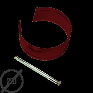 Крепление с анкером диаметр 220 мм рал 3005 стальное 05 мм от vsevodostoki ru
