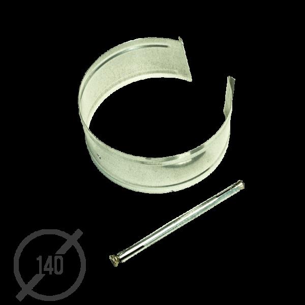 Крепление трубы с анкером диаметр 140мм оцинкованное VseVodostoki