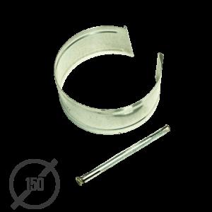 Крепление трубы с анкером диаметр 150мм оцинкованное VseVodostoki