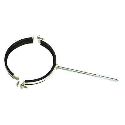 Крепление трубы со шпилькой оцинкованное стальное 0,5 мм от VseVodostoki.ru
