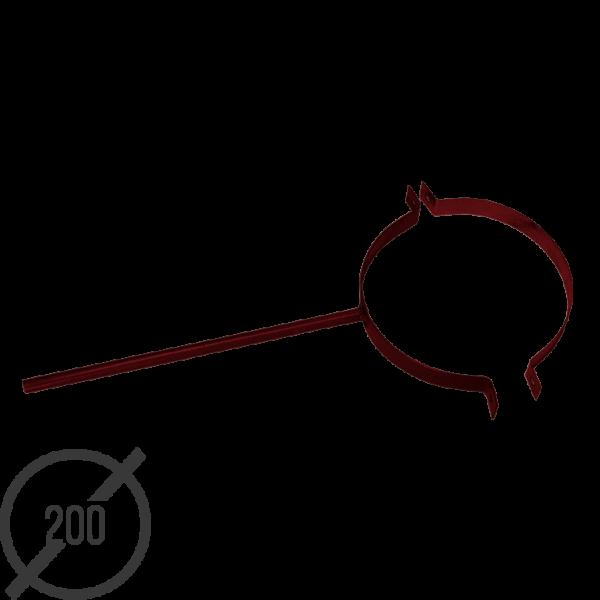 Крепление трубы сварное диаметр 200 мм рал 3005 05 мм от vsevodostoki-ru