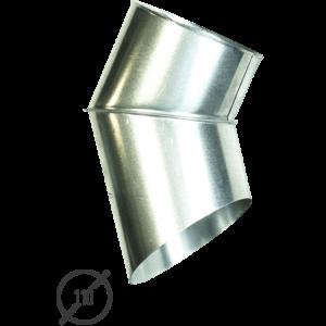 Отмет трубы (колено стока) водосточной диаметр 110 мм оцинкованный от Vsevodostoki.ru