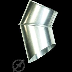 Отмет трубы (колено стока) водосточной диаметр 150 мм оцинкованный от Vsevodostoki.ru