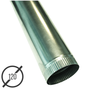Водосточная труба диаметр 120 мм оцинкованная стальная 0,5мм от VseVodostoki.ru