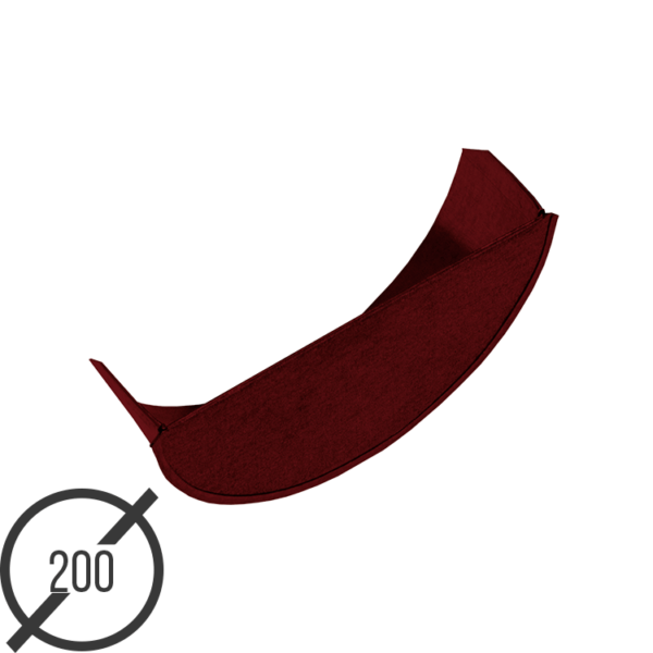 zaglushka-zheloba-vodostochnogo-diametr-200-mm-ral-3005-stalnoe-05-mm-ot-vsevodostoki-ru