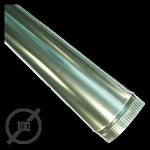 Желоб водосточный диаметр 100 мм оцинкованный стальной 0,5 мм от VseVodostoki.ru