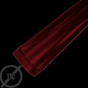 Желоб водосточный диаметр 110 мм рал 3005 стальной 05 мм от vsevodostoki ru