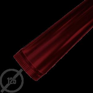 Желоб водосточный диаметр 125 мм рал 3005 стальной 05 мм от vsevodostoki ru