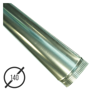 Желоб водосточный диаметр 140 мм оцинкованный стальной 0,5 мм от VseVodostoki.ru