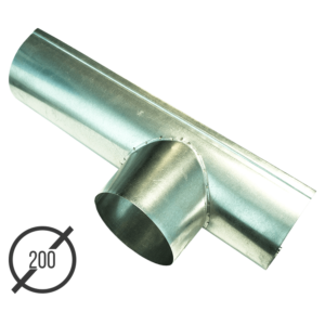 Канадка (желоб с воронкой) диаметр 200 мм оцинкованная стальная 05 мм vsevodostoki ru