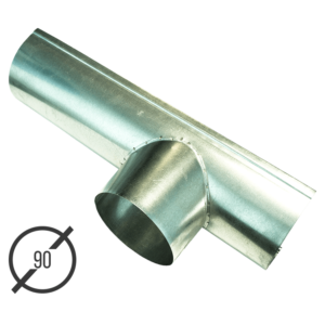 Канадка (желоб с воронкой) диаметр 90 мм оцинкованная стальная 05 мм vsevodostoki ru