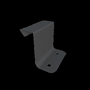 Кляммер фальцевый неподвижный оцинкованный 25мм