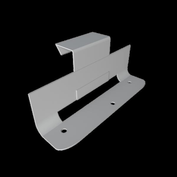Кляммер фальцевый подвижный скользящий оцинкованный и нержавеющий стальной steel-plant-ru