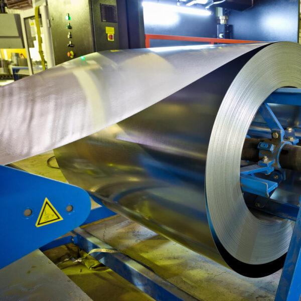 Рулон стальной оцинкованный отмотка штрипс
