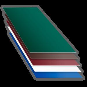 Лист с полимерным покрытием полиэстер оцинкованный RAL PE