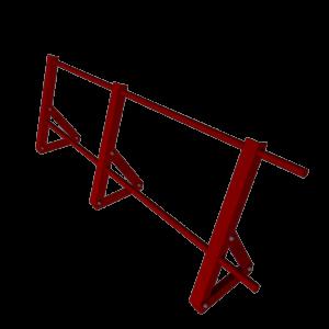 Ограждение кровельное стальное с полимерным покрытием RAL 7004 высота 600 мм