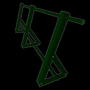 Ограждение кровельное стальное с полимерным покрытием RAL 7004 высота 750 мм