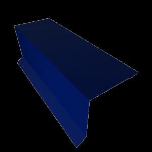 Планка карнизная кровельная оцинкованная с покрытием RAL 5005