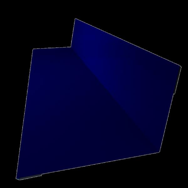 Планка примыкания верхняя 150 х 250 с полимерным покрытием по RAL 5002