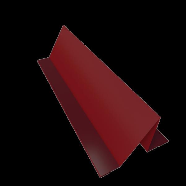 Планка снегозадержателя кровельного оцинкованная с покрытием RAL 3005 СТИЛПЛАНТ